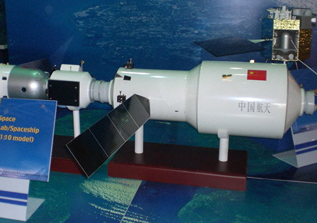 Modelo del Tiangong-2