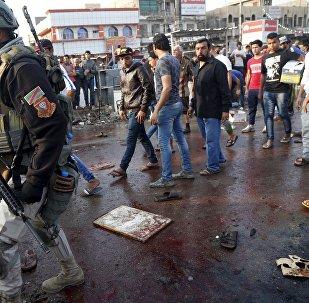 Atentados suicidas en Bagdad