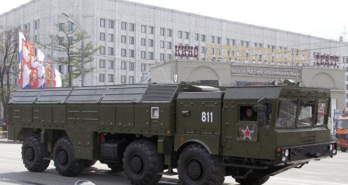 El sistema de misiles tácticos Iskander-M
