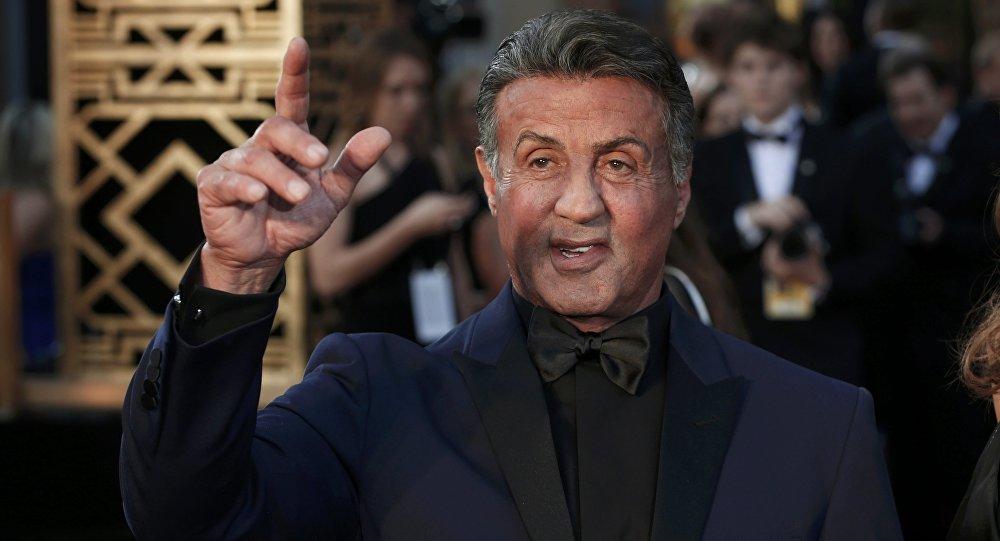 Sylvester Stallone durante la ceremonia de los Óscar
