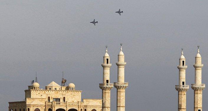 Los aviones rusos sobrevuelan la ciudad siria de Latakia