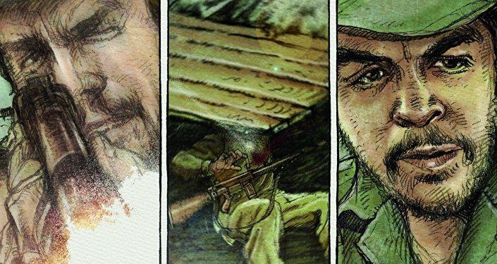 Che. Una vida revolucionaria, novela gráfica publicada por Sexto Piso