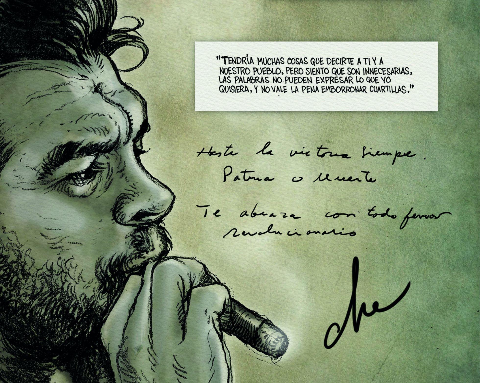 Che. Una vida revolucionaria, novela gráfica
