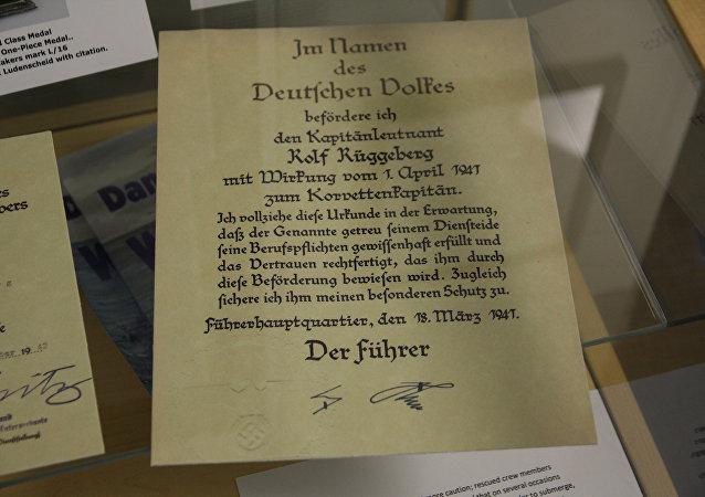 Defensa de Rusia digitalizará documentos alemanes de la II Guerra Mundial