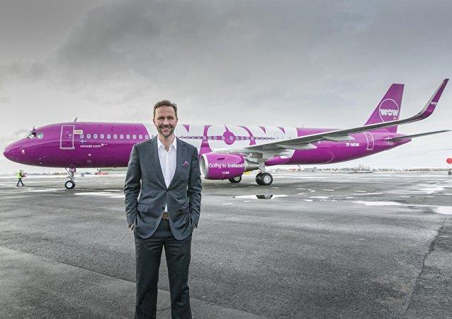 Skúli Mogensen, fundador de WOW Air