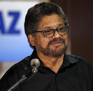Iván Márquez, jefe de la guerrilla FARC (archivo)