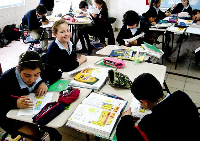 Una escuela en México