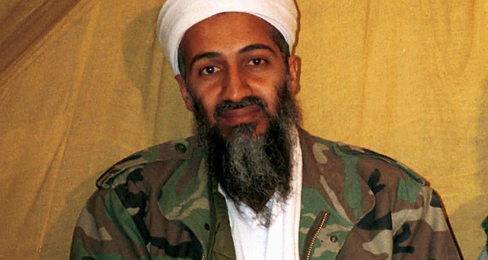 Al-Qaeda leader Osama bin Laden in Afghanistan. (File)