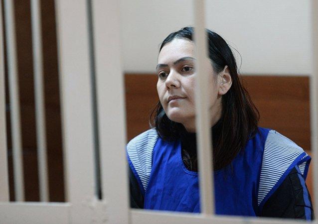 La niñera Gulchejra Bobokúlova en la corte