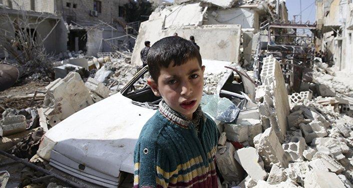 Situación en la ciudad siria de Damasco