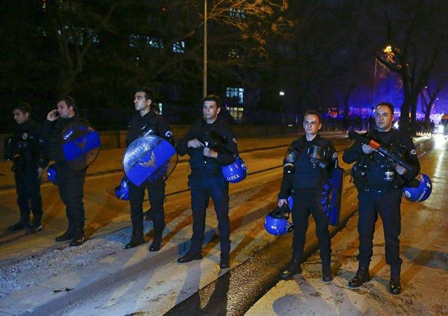 Los policías turcos (archivo)