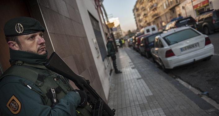 La Guardia Civil de España (archivo)