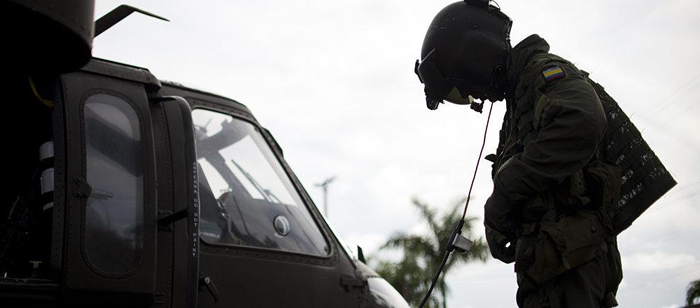 Soldado del Ejército de Colombia