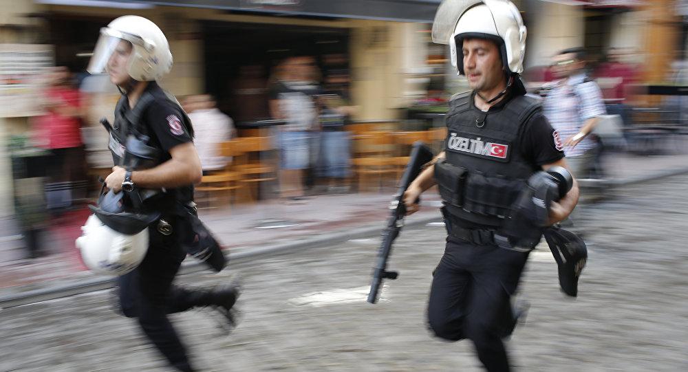 Policía de Turquía (archivo)