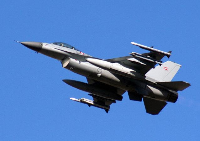 F-16 de la Fuerza Aérea de Dinamarca