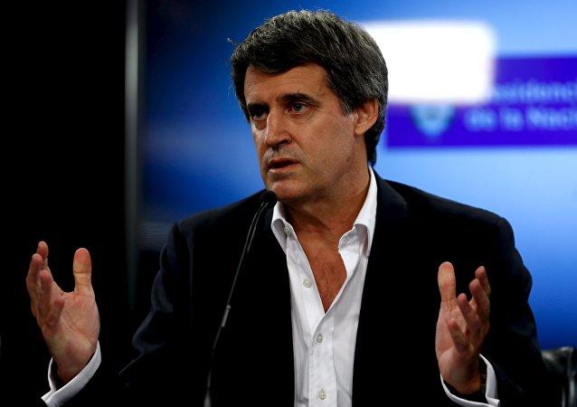 Alfonso Prat-Gay, ministro de Hacienda y Finanzas de Argentina
