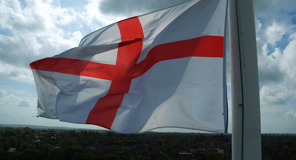 Bandera de Inglaterra, Cruz de San Jorge