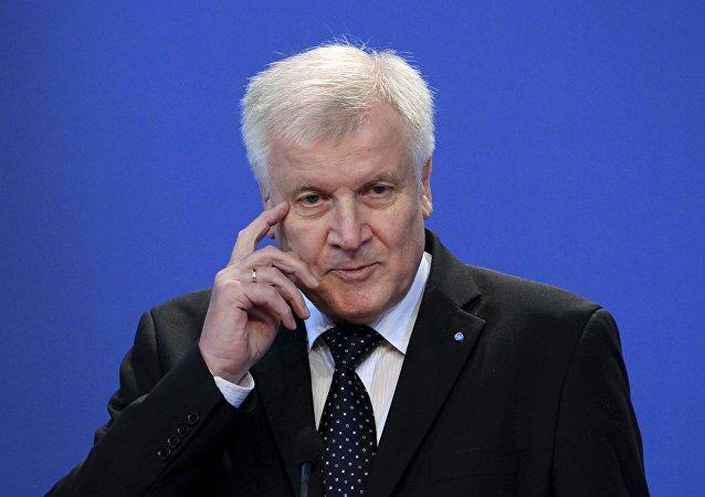 Horst Seehofer, ministro presidente de Baviera