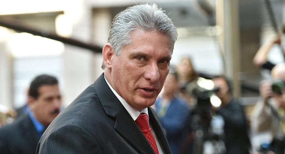 Miguel Díaz-Canel, presidente de Cuba (archiv)