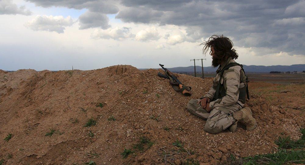 Soldado del Ejército Libre Sirio