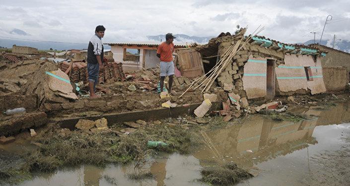 Inundación en Cochabamba (archivo)