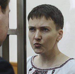 Nadezhda Sávchenko, la piloto ucraniana
