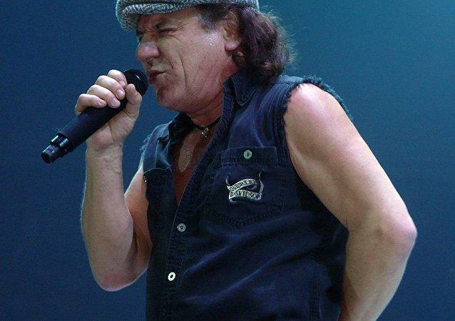 Brian Johnson, vocalista de AC/DC