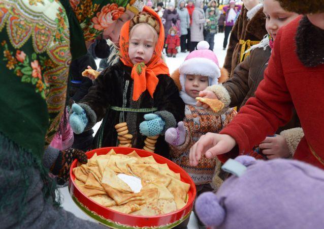 La fiesta de la Maslenitsa