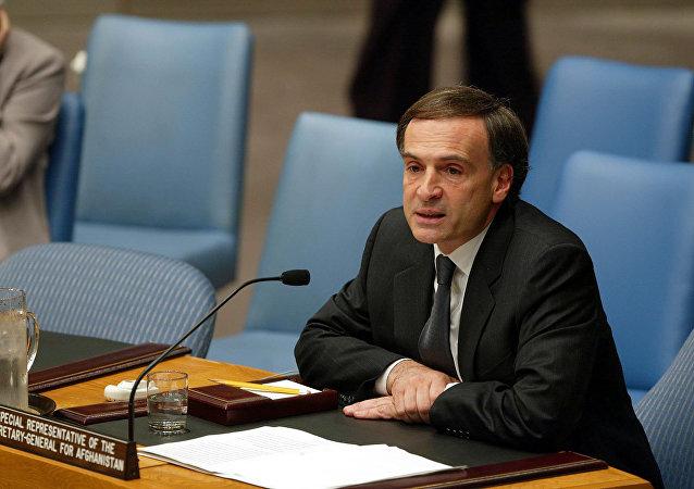Jean Arnault, enviado especial de Naciones Unidas para Bolivia
