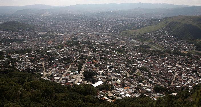 Tegucigalpa, la capital de Honduras