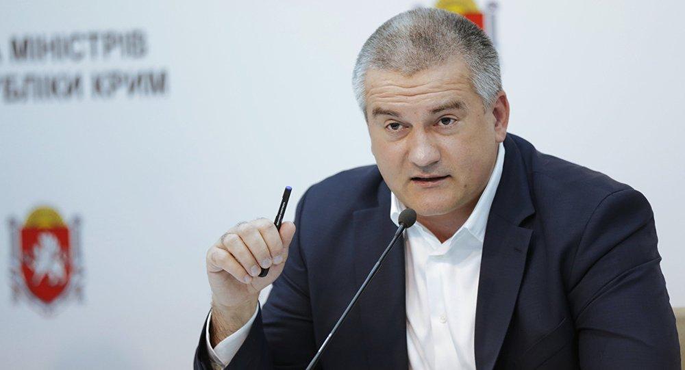 Serguéi Aksiónov, líder de Crimea