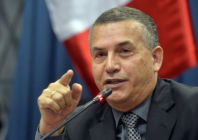 Daniel Urresti, candidato del Partido Nacionalista de Perú
