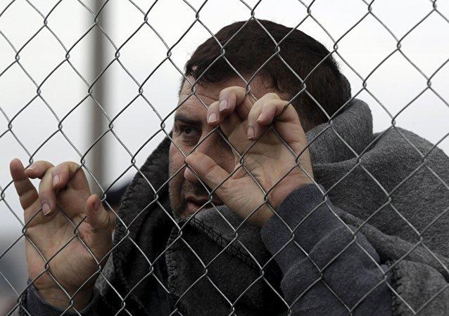 Refugiado sirio (archivo)