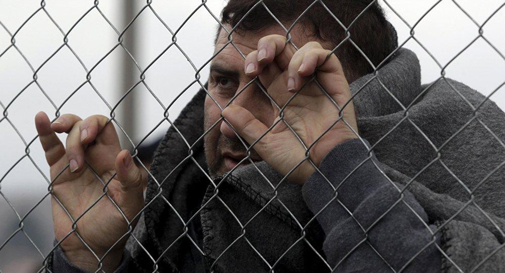 Un refugiado en Grecia