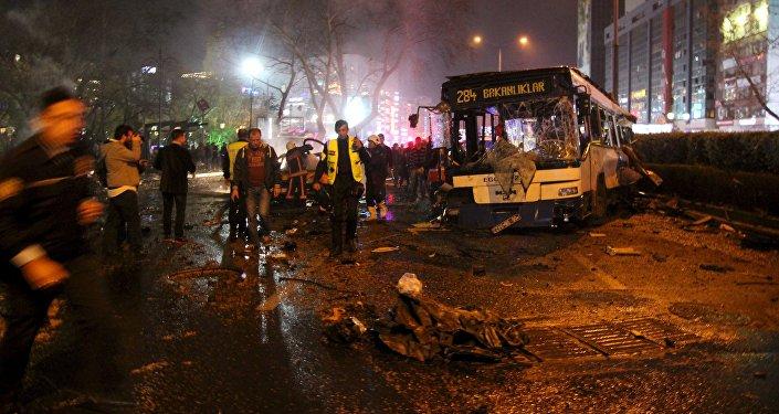 Atentado en Ankara, el 13 de marzo de 2016