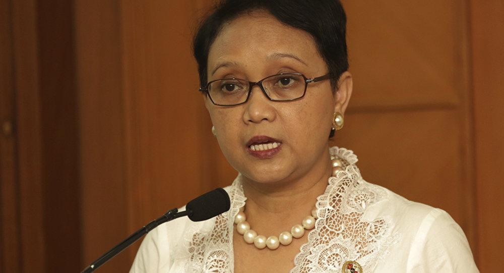 Retno Marsudi, ministra de Exteriores de Indonesia