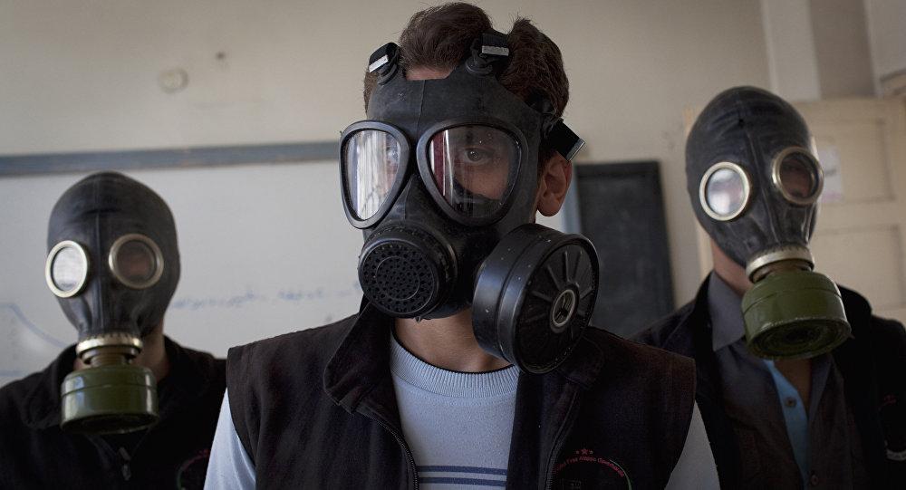 La protección de armas químicas en Siria (archivo)