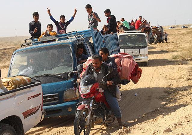 Civiles iraquíes