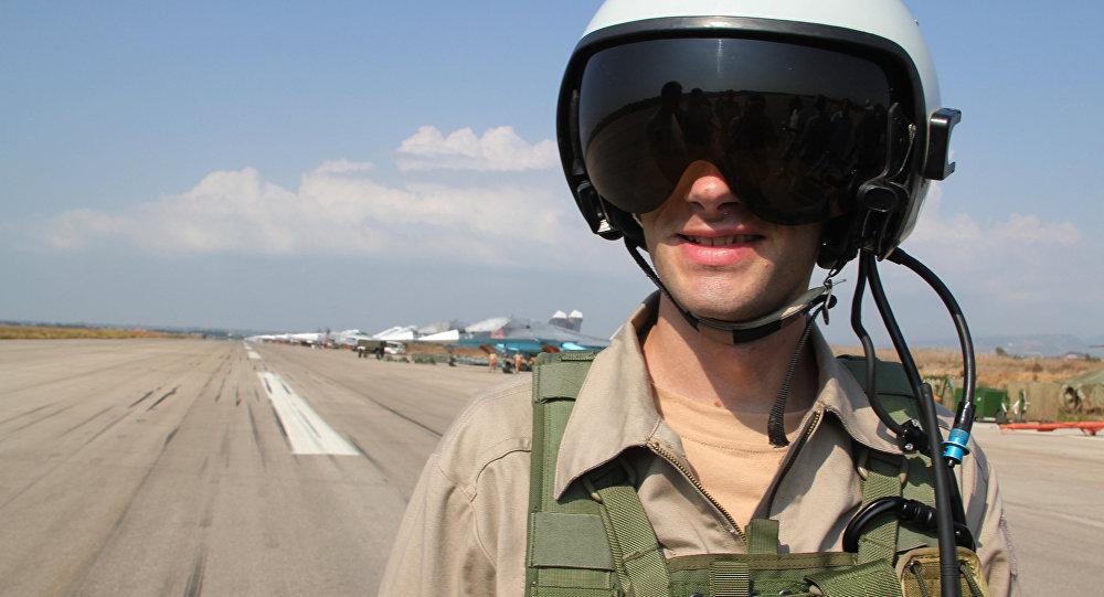 Piloto en un casco