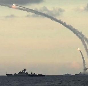 Lanzamiento de un misil Kalibr
