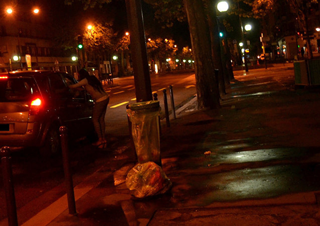 Una prostituta (imagen referencial)