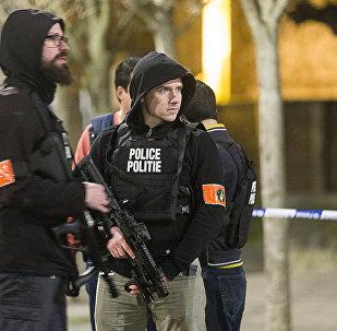 La policía de Bélgica