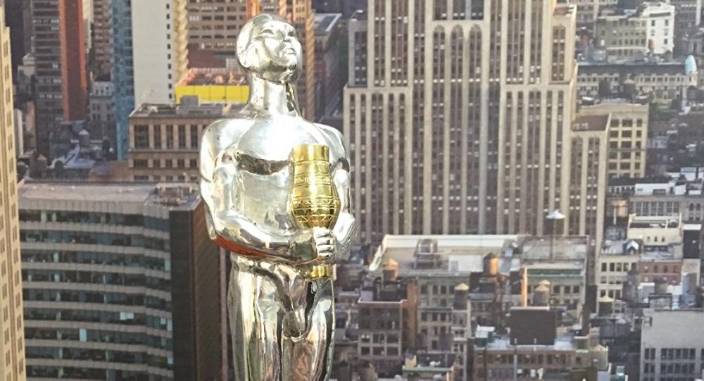 Estatuilla fabricada en Yakutia para DiCaprio