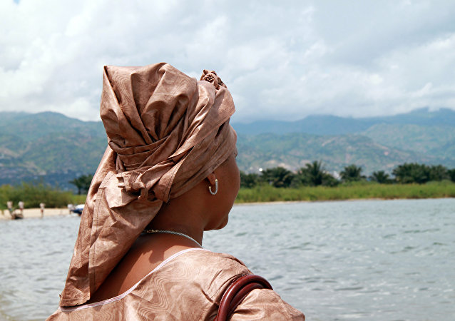 Una ciudadana de Burundi