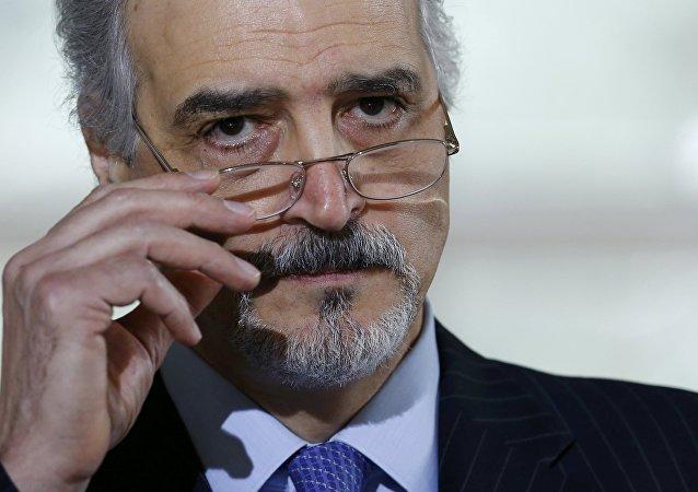 Bashar Jaafari, el representante permanente de Siria ante la ONU
