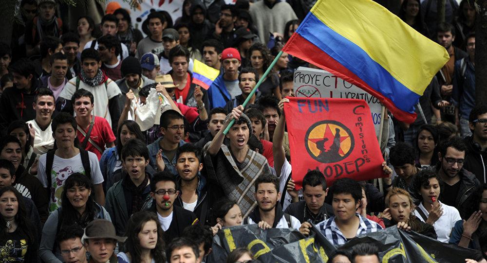 Paro en Colombia (Archivo)