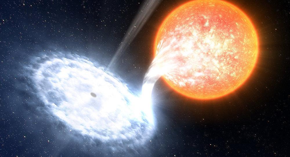 Avistan erupciones más brillantes que nuestro Sol en un agujero negro