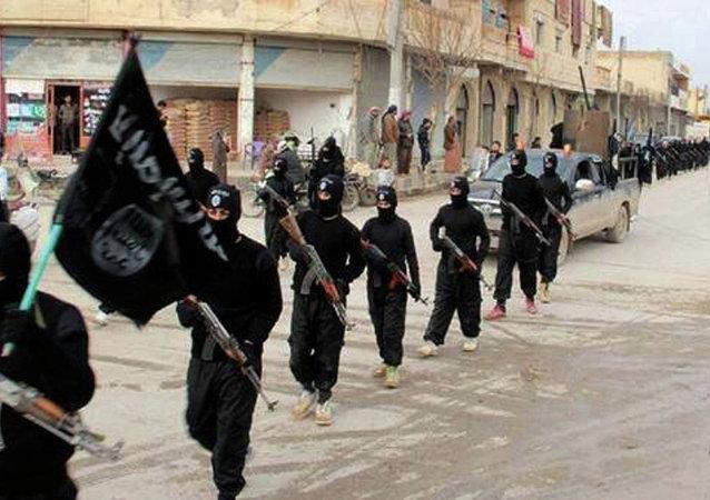 Militantes de Daesh (archivo)