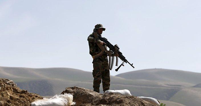 Un soldado en Afganistán (archivo)