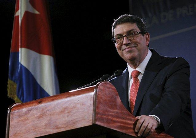 Bruno Rodríguez Parrilla, canciller de Cuba